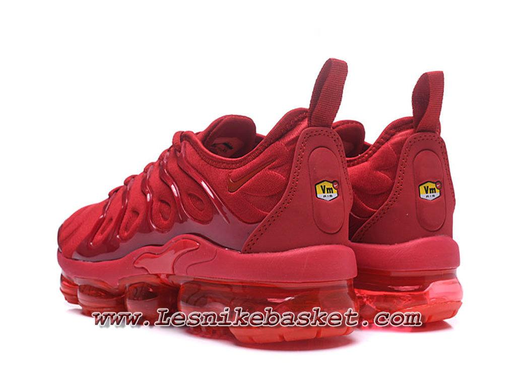 abe35553fd538 ... Nike Wmns Air Vapormax Plus Rouge AO4550_ID1 Chaussures Nike Pas cher  Pour Femme/Enfant Rouge