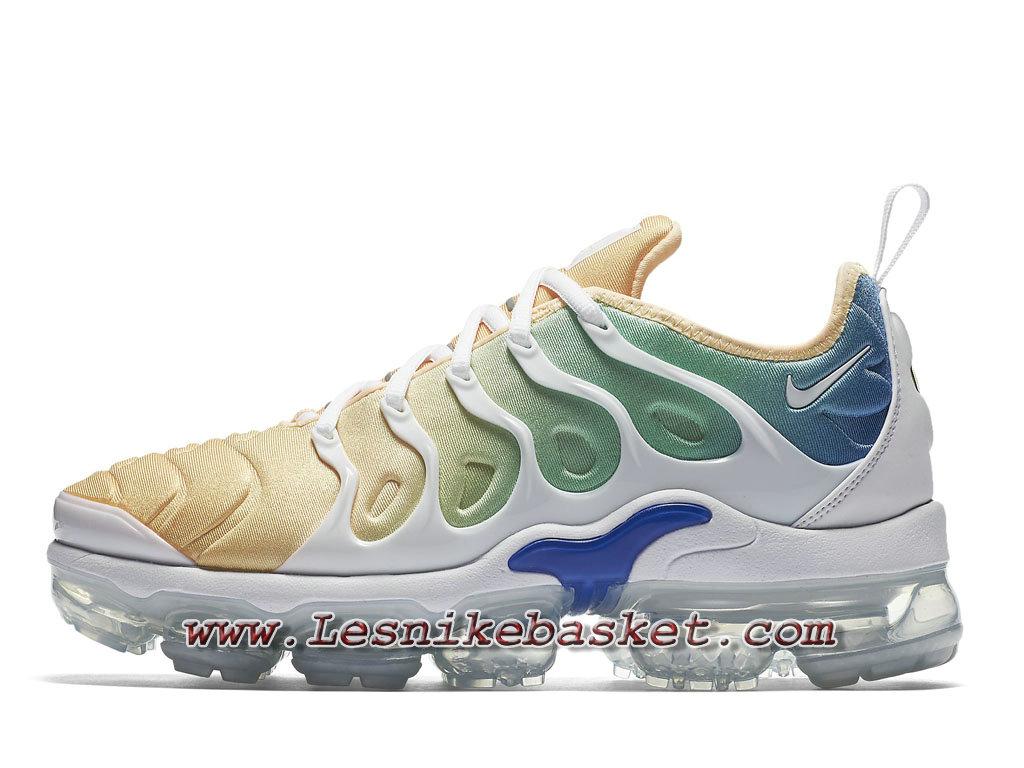 best service 925a8 9cf00 Nike Wmns Vapormax Plus Sherbet AO4550 100 Chaussures Officiel Pas cher  Pour Femme enfant ...