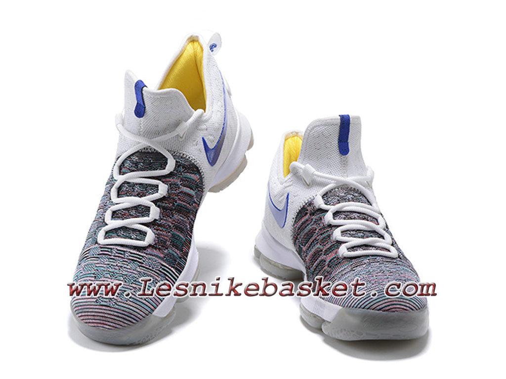hot sale online 38101 7da3c ... sweden nike zoom kd 9 chaussures officiel basket pour homme gris blanc  bleu 1c4ab 4ca74
