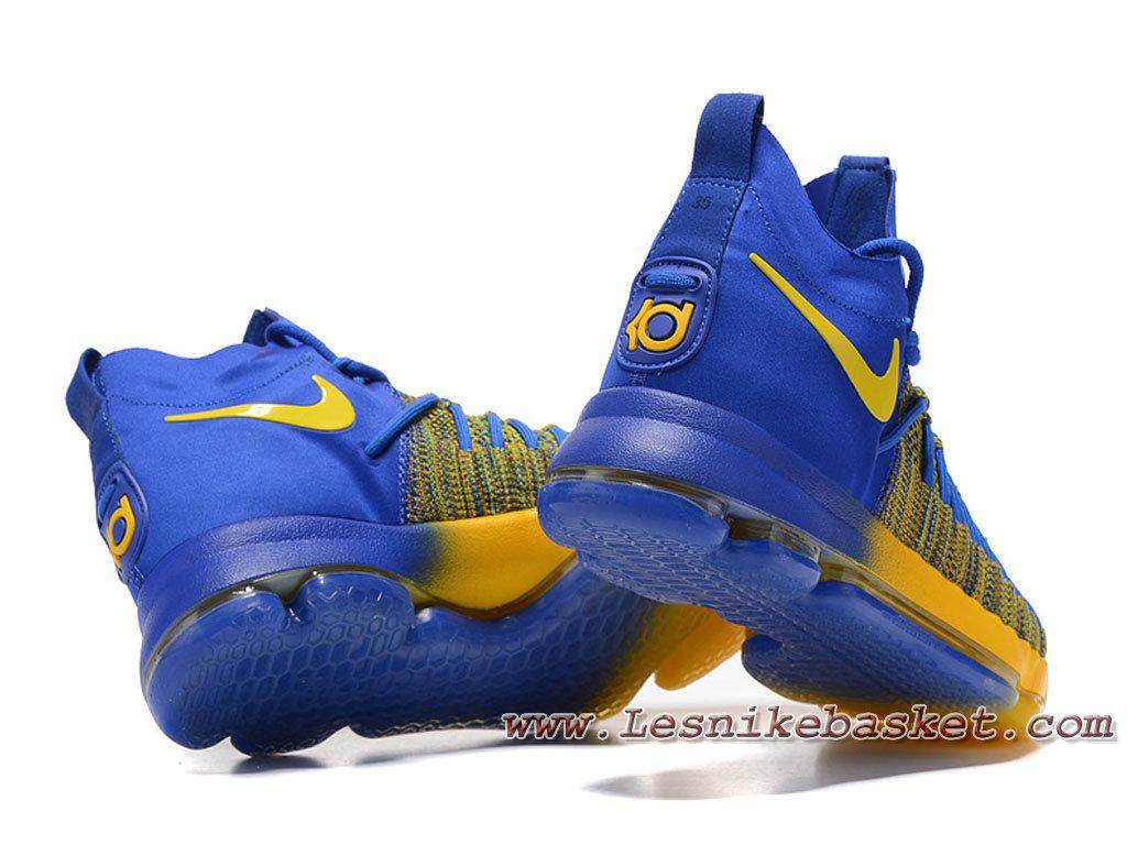 Nike Zoom KD 9 Elite Bleu Or 909139 ID14 Homme Nike le moins cher