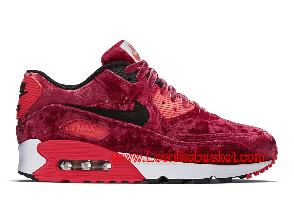 Wmns Officiel Basket 90 Red Max Air Anniversary 25th Nike Velvet gwPw6f