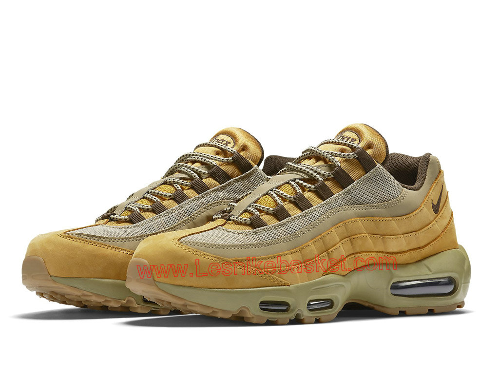 huge discount b41fa 84edd ... Officiel Prix Homme Nike Air Max 95 Essential Baroque Brown 538416 700  ...