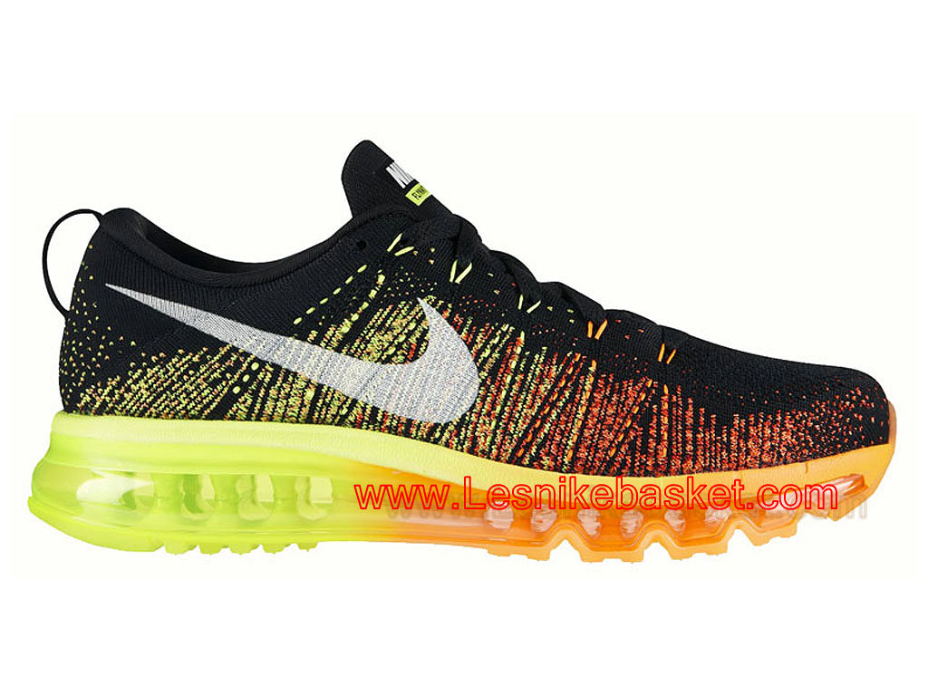 Running HOmme Nike Flyknit Air Max Black Atomic Orange Vlot 620469 018 Officiel Pas cher 1603092233 Les Nike Sneaker Officiel site En France