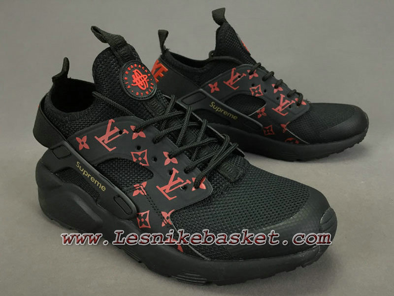 nouveau style 1e1da 01f8d Running LV Supreme Nike air Huarache Ultra Noires/Orange Chaussures Urh  Nike Spureme Pirx Pour Homme-1711113485 - Les Nike Sneaker Officiel site En  ...