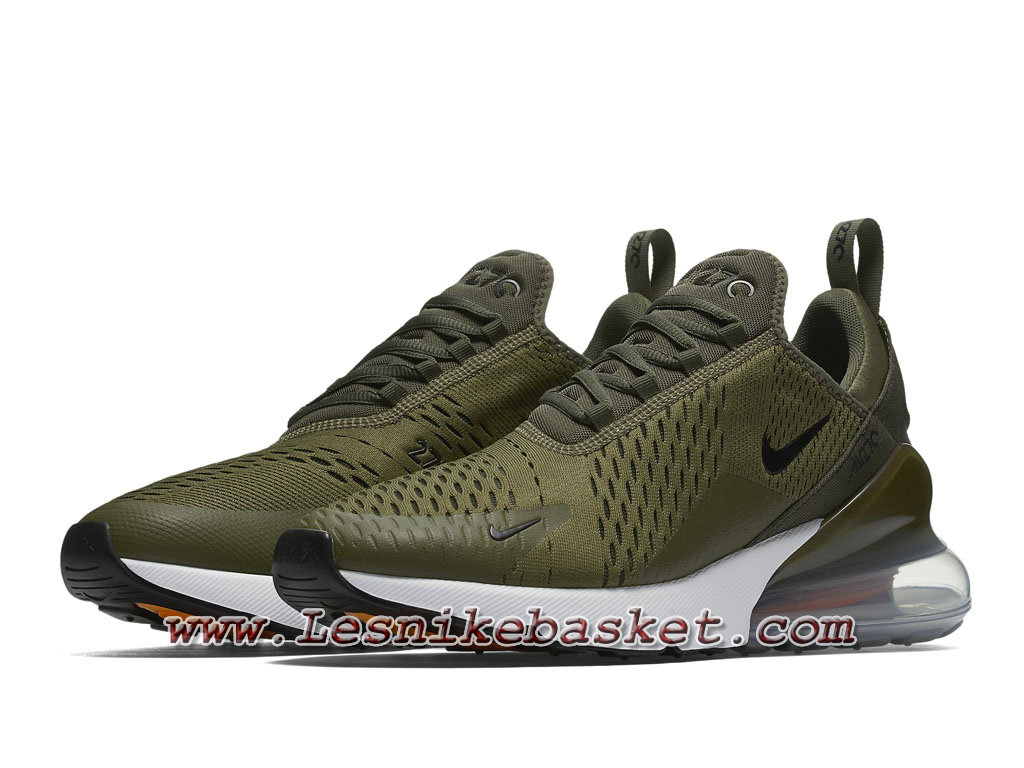 ... Running Nike Air Max 270 Medium Olive AH8050_201 Chaussures Officiel Nike Pour Homme Brown ...