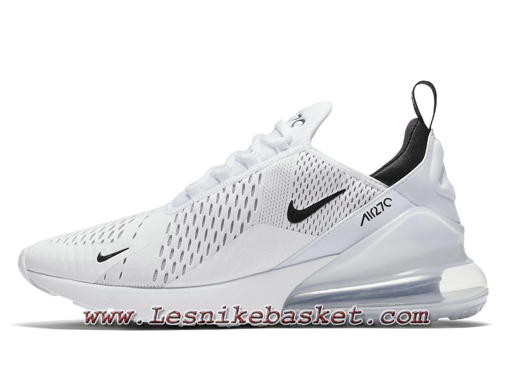 Running Nike Air Max 270 White Bule AH8050_100 Chaussures Nike sportwear 2018 Pour Homme Blanc-1803153680 - Les Nike Sneaker Officiel site En France