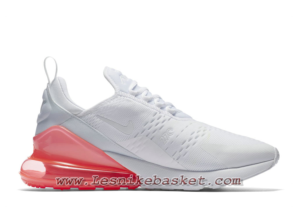 Running Nike Air Max 270 White Hot Punch AH8050_103 Chaussures Nike Sportwear Pour Homme WhitePink 1804093730 Les Nike Sneaker Officiel site En