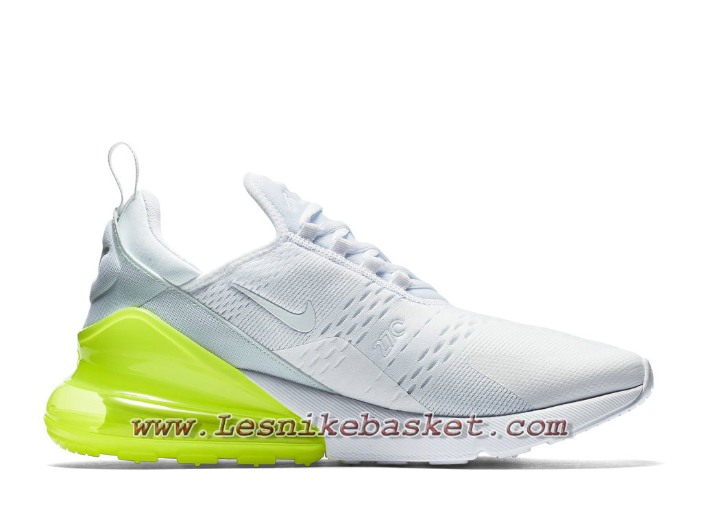 ... Running Nike Air Max 270 White Pack AH8050_104 Chaussures Nike Pas cher Pour Homme Blanc/ ...