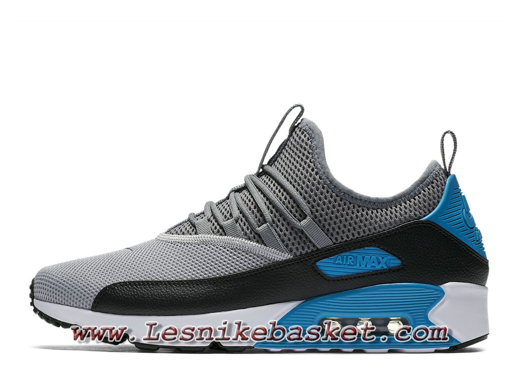 Running Nike Air Max 90 EZ Grey Black Blue AO1745_004