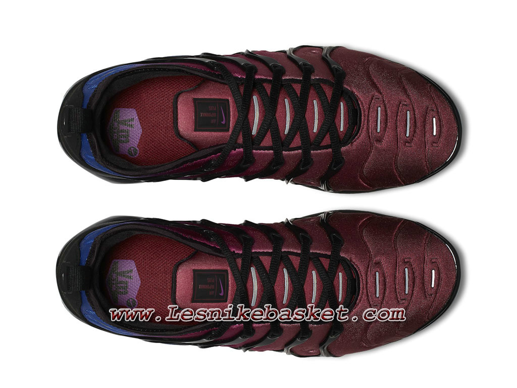 wholesale dealer 004a8 c0067 ... clearance running nike air vapormax plus black team red violet  ao4550001 chaussures nike 2018 pour homme ...