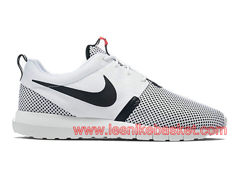 hot sales 01925 c9443 Running Nike Roshe One NM Breeze Chaussures Pour Homme Blanc Noir  644425-100 ...