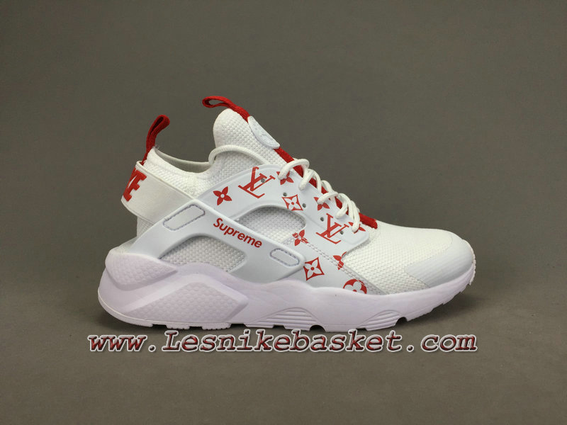 fb173b34 Running X LV Supreme Nike air Huarache Ultra Blanc Chaussures Urh Officiel  Supreme Pour Homme ...