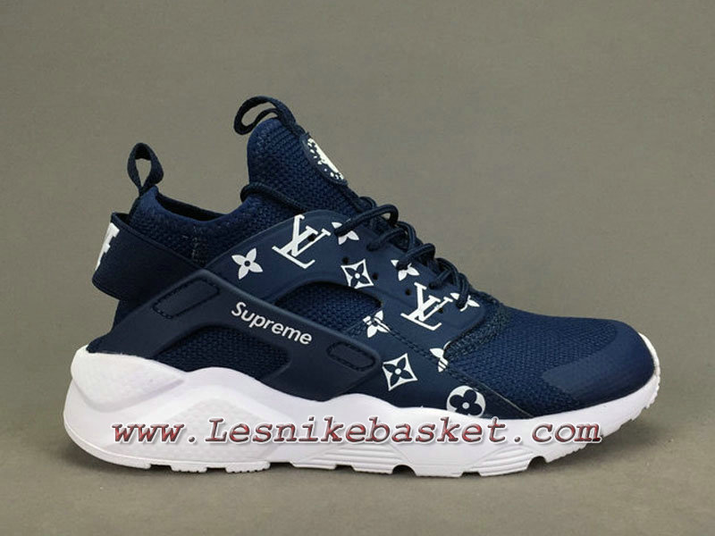 the latest 5f1ae 83124 Running X LV Supreme Nike air Huarache Ultra Blue Chaussures Urh Nike prix  Pour Homme ...