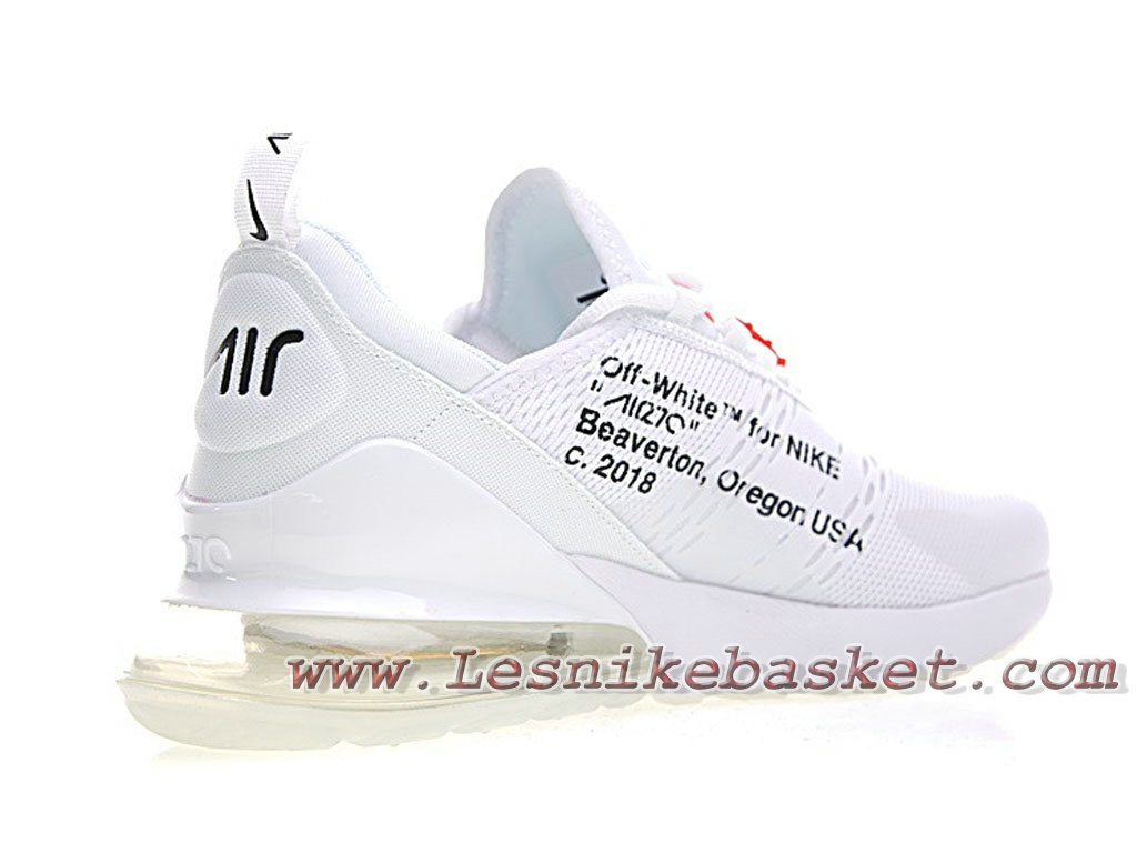 air max 270 blanche et or